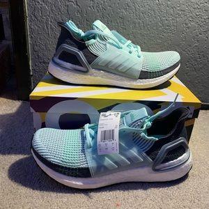 Adidas ultraboost19 ice mint size women's size 11